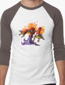 Hotfoot the fluxbot Men's Baseball ¾ T-Shirt