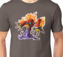 Hotfoot the fluxbot Unisex T-Shirt