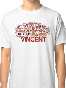 Pulp Fiction Poster Classic T-Shirt