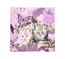Frieda's Baby Cats in Pink Scarf