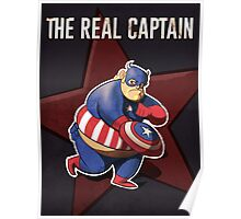 The real captain america Poster