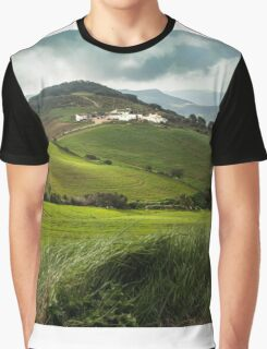 Hills of Andalusia, El Torcal Graphic T-Shirt