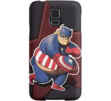 The real captain america Samsung Galaxy Case/Skin
