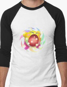 Rainbow Kirby - Kirby Men's Baseball ¾ T-Shirt