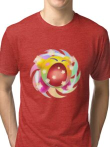 Rainbow Kirby - Kirby Tri-blend T-Shirt