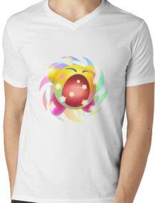 Rainbow Kirby - Kirby Mens V-Neck T-Shirt