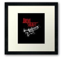 Drive Shaft Framed Print