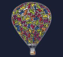 Festival Ballooning - baby Keith Kids Tee