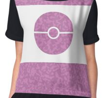 Pokemon CAMO Pink Chiffon Top