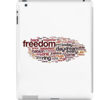 I Have A Dream by Martin Luther King iPad Case/Skin