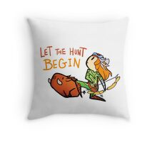Smite - Let the hunt begin (Chibi) Throw Pillow