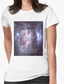 A universe of La Dispute Womens Fitted T-Shirt