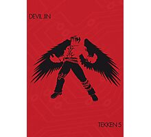 Devil Jin Photographic Print