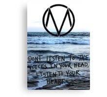The Maine take a trip to the seaside Canvas Print