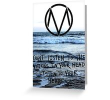The Maine take a trip to the seaside Greeting Card