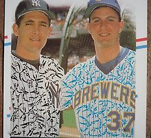 113 - Classic Relief - Dave Righetti, Dan Plesac by Foob's Baseball Cards