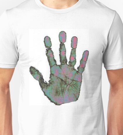 Heatmap Handprint Unisex T-Shirt