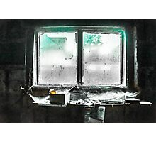Old-timers workbench Photographic Print
