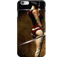 Dangerously Sharp Revisited iPhone Case/Skin