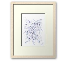 0106 - Zooming Framed Print