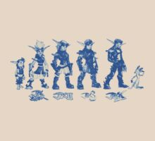 Jak and Daxter Saga - Blue Sketch by arunsundibob