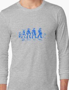 Jak and Daxter Saga - Blue Sketch Long Sleeve T-Shirt
