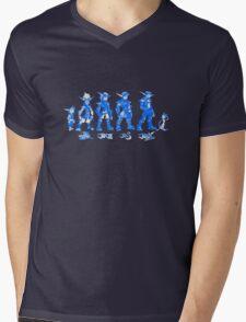 Jak and Daxter Saga - Blue Sketch Mens V-Neck T-Shirt