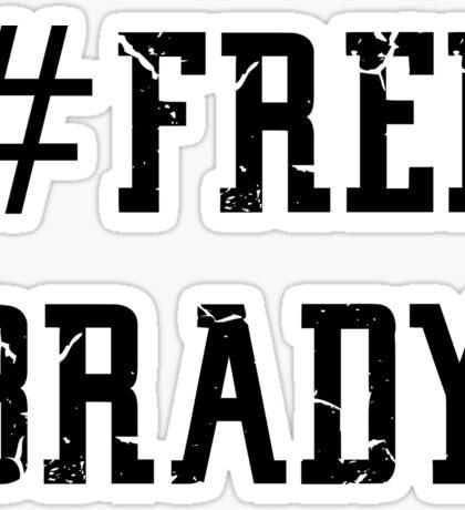 Free Brady (2) Sticker