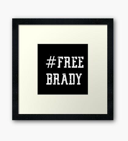 Free Brady (2) Framed Print