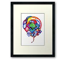 Ideas Born Framed Print