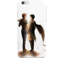 The Hunter and the Angel iPhone Case/Skin