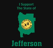 I support the State of Jefferson Unisex T-Shirt