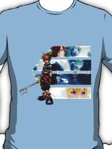 Kingdom Hearts multi-character T-Shirt