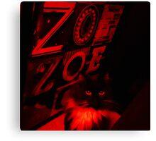 Le Crescent Adore Zoe Canvas Print