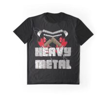 Heavy metal Graphic T-Shirt