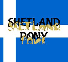 Flexible Ponies - Shetland by piedaydesigns