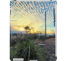 Techno Tower Sunset iPad Case/Skin