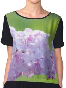 Lilac flowers in bloom Chiffon Top