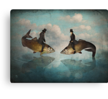 The Fishpond Canvas Print