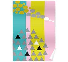Aro - multicolour Poster