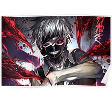 Ken Kaneki Mask Poster