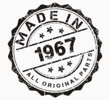 MADE IN 1967 ALL ORIGINAL PARTS by smrdesign