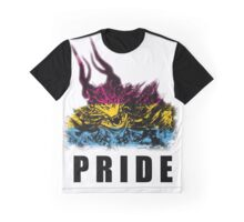 Pansexual Pride Demon Graphic T-Shirt