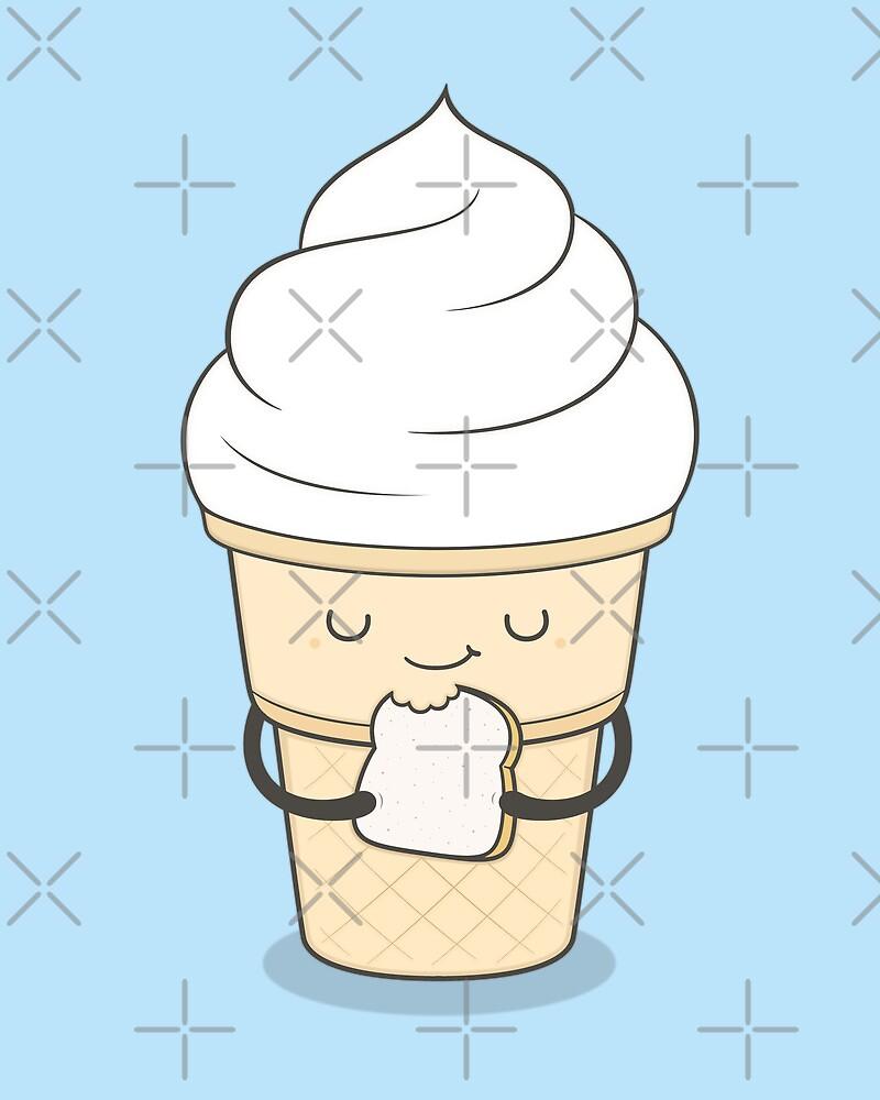 ice cream sandwich by kimvervuurt