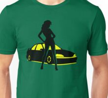 Car Tuning Girl (Coupe) Unisex T-Shirt
