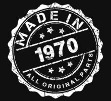 MADE IN 1970 ALL ORIGINAL PARTS by smrdesign