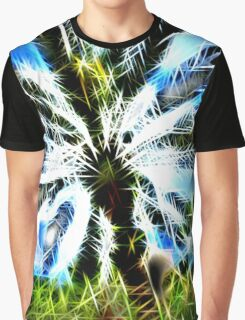 Exploding Spikes and Hearts Graphic T-Shirt