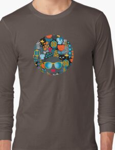 Funny cemetery Long Sleeve T-Shirt