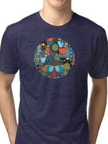Funny cemetery Tri-blend T-Shirt