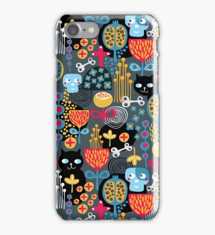 Funny cemetery iPhone Case/Skin